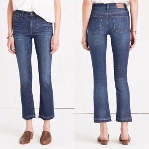 Madewell Cali Demi Boot Jeans